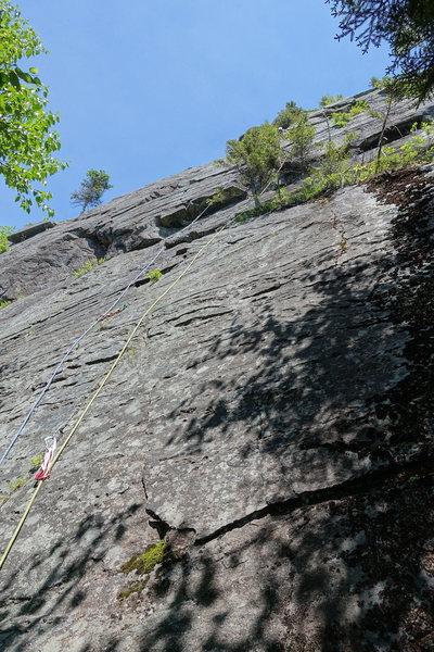Rock Climbing Photo: AMC Route Variation, P1