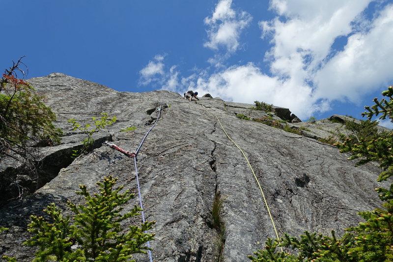 Rock Climbing Photo: AMC Route Variation, P3