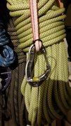 Rock Climbing Photo: Alpine draw with extra wrap ('round turn')...