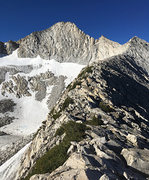 Rock Climbing Photo: Mt. Conness: complete N. Ridge