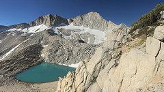 Rock Climbing Photo: Mt. Conness approach