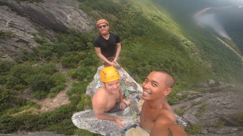 Rock Climbing Photo: Lyan, Dereck, Justin. August 6, 2016