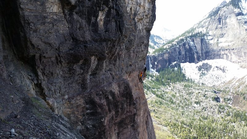 Telluride Mountain Film 2016. May 28th - 30th. Early AM Via Ferrata with Tony Maul and Timmy O'Neil.