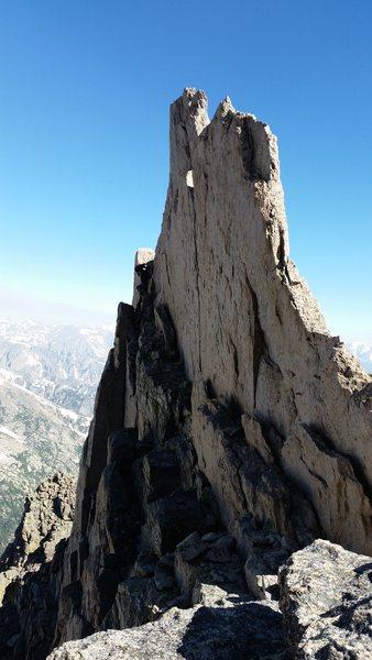 Longs Peak, Keyhole Ridge with Jordon G, and Ty.  June 16th. 2016.