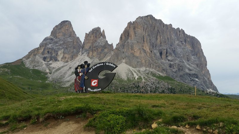 Dolomites, Italy with Mike C, and Doug D. July 18th - August 4th, 2016. Sella Pass here.