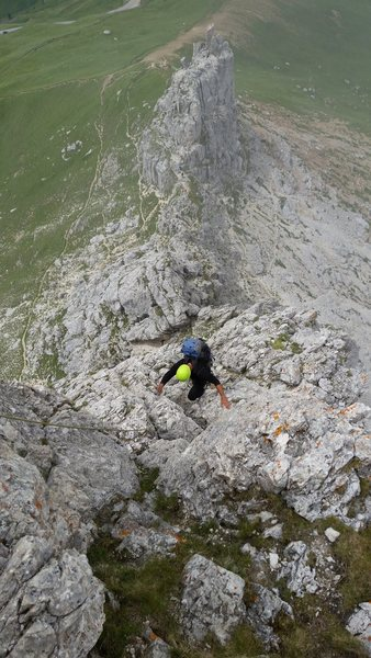 Rock Climbing Photo: Dolomites, Italy with Mike C, and Doug D. July 18t...