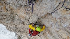 Rock Climbing Photo: With a slightly better forecast, we managed to cli...