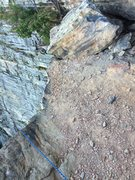 Rock Climbing Photo: This is why you should traverse 3/4 of the way to ...