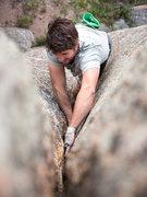 Rock Climbing Photo: Rob goes a-boulderin'.