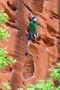 Rock Climbing Photo: Jeremy, on the 1/2