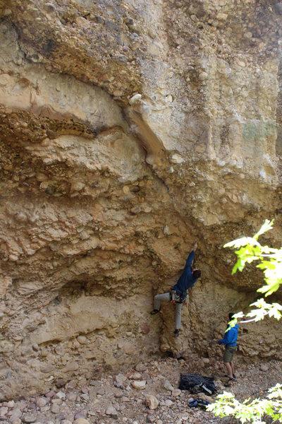 Rock Climbing Photo: just getting started. such a fun climb