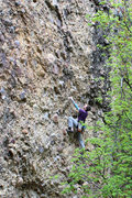 Rock Climbing Photo: climbing one of the 5.10s. couldn't decide wha...