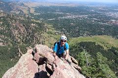 Rock Climbing Photo: The ridge.