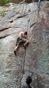Rock Climbing Photo: Cameron Triay placing
