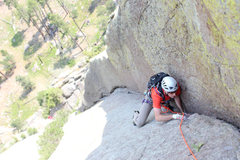 Rock Climbing Photo: such a sweet corner