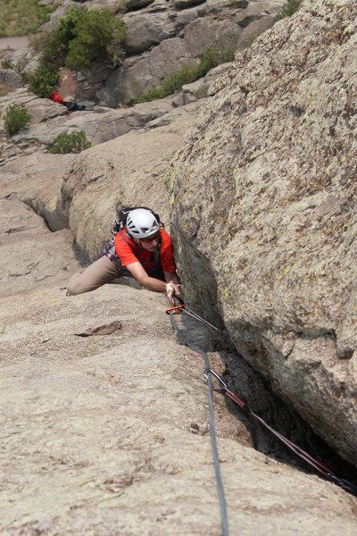 Rock Climbing Photo: jamming