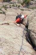 Rock Climbing Photo: jug time!