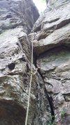 Rock Climbing Photo: Reservation Crack