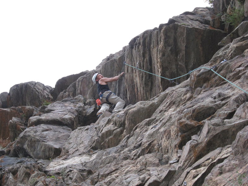 Rock Climbing Photo: Ready for the crux.