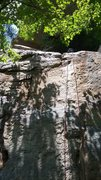 Rock Climbing Photo: Very fun route