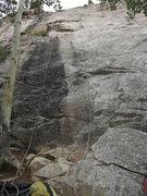 Rock Climbing Photo: Follow the bolts.