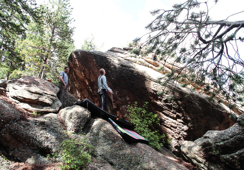 Rock Climbing Photo: The West face, which you will see first if approac...