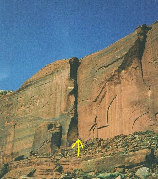 "Rock Climbing Photo: FA ""Howe in The World Chimney"" Lost Worl..."