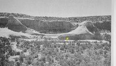 Rock Climbing Photo: FA Moby Dick's Head .Joe Wilson Canyon .Moab. ...
