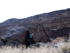 Rock Climbing Photo: Super fun problem!