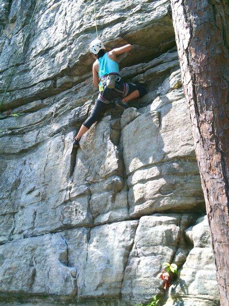 Rock Climbing Photo: Pilot Mtn