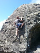 Rock Climbing Photo: Bolting..