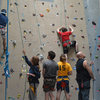 Busy day at of Climbing at the Crux Champlain Valley Climbing Center