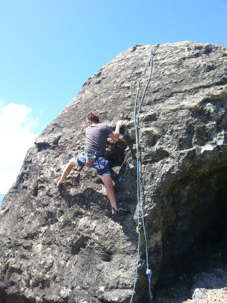 Rock Climbing Photo: Bolting check