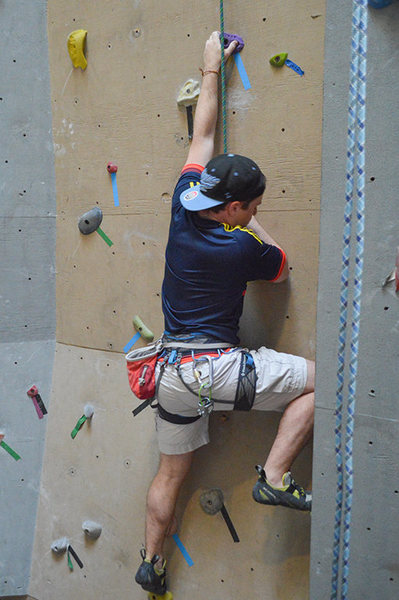 New routes at the  Crux, Champlain Valley Climbing Center in Willsboro NY. Rock climbing for all ages and abilites