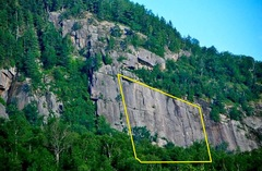 Rock Climbing Photo: Multi pitch area