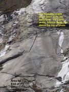 "Rock Climbing Photo: Super-Telephoto of ""the Beautiful Crack""..."
