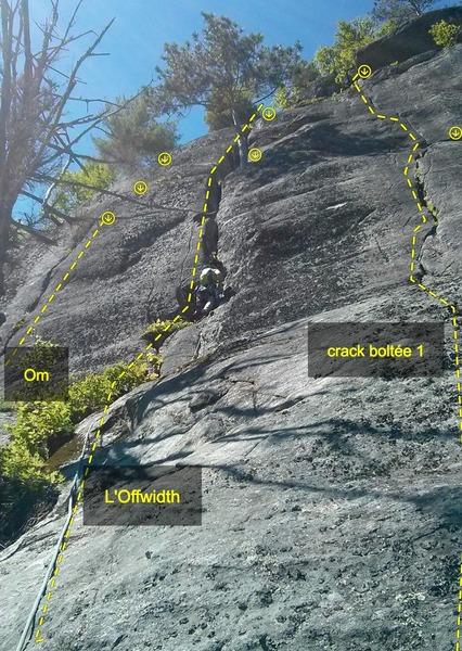 Rock Climbing Photo: L'Offwidth area