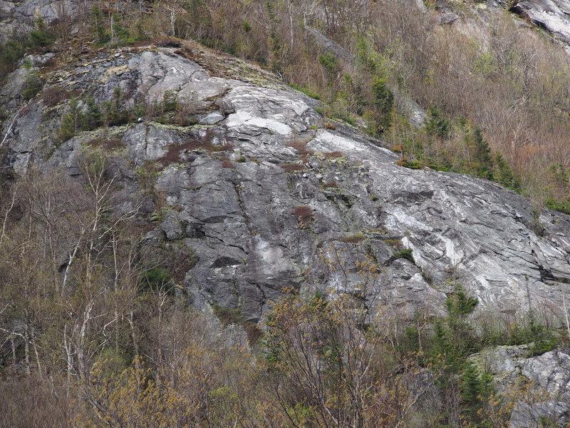 Rock Climbing Photo: The Upper Apron