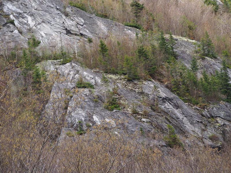 Rock Climbing Photo: The Lower Apron