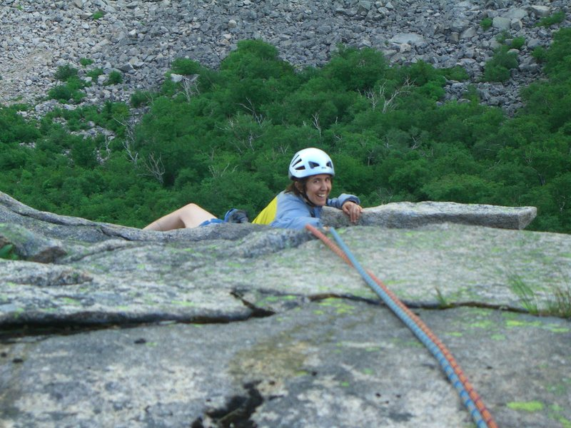 Rock Climbing Photo: Cannon Cliff, New Hampshire