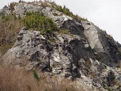 "Rock Climbing Photo: Arete above ""The Apron"""
