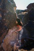 Rock Climbing Photo: not the actual girl