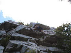 Rock Climbing Photo: Hanging out at pole steeple