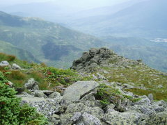 Rock Climbing Photo: Top of Buttress #1 (You'll notice the weather ...