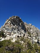 Rock Climbing Photo: East side of crag, approaching Southeast