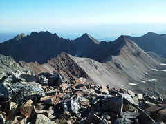 Rock Climbing Photo: Looking south from 'T. Zero' (north of Cam...
