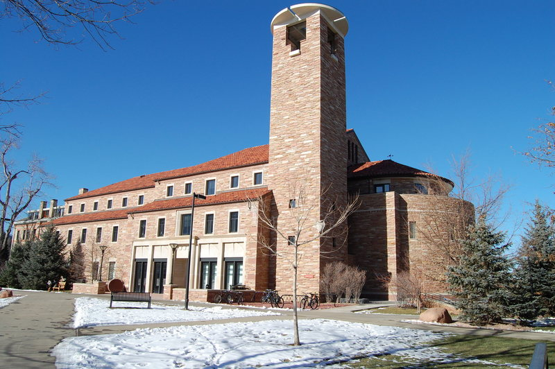 The Humanities building.