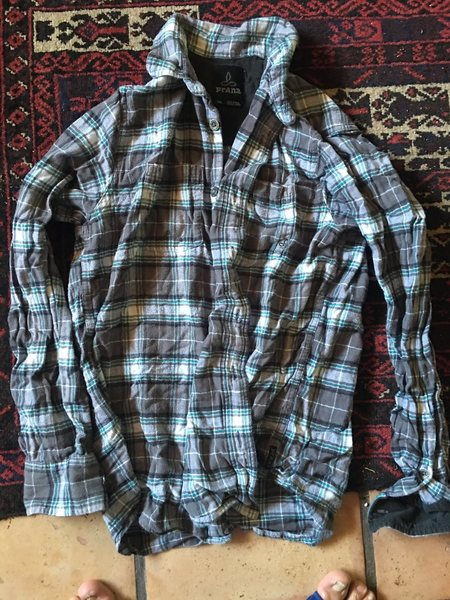 Prana flannel shirt