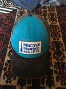 Marmot trucker hat