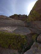 Rock Climbing Photo: Crux on Pitch 5. Photo Marc Tarnosky.
